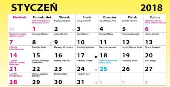 Kalendarz sprzyja pstragarzom