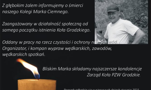 Zmarł Marek Ciemny